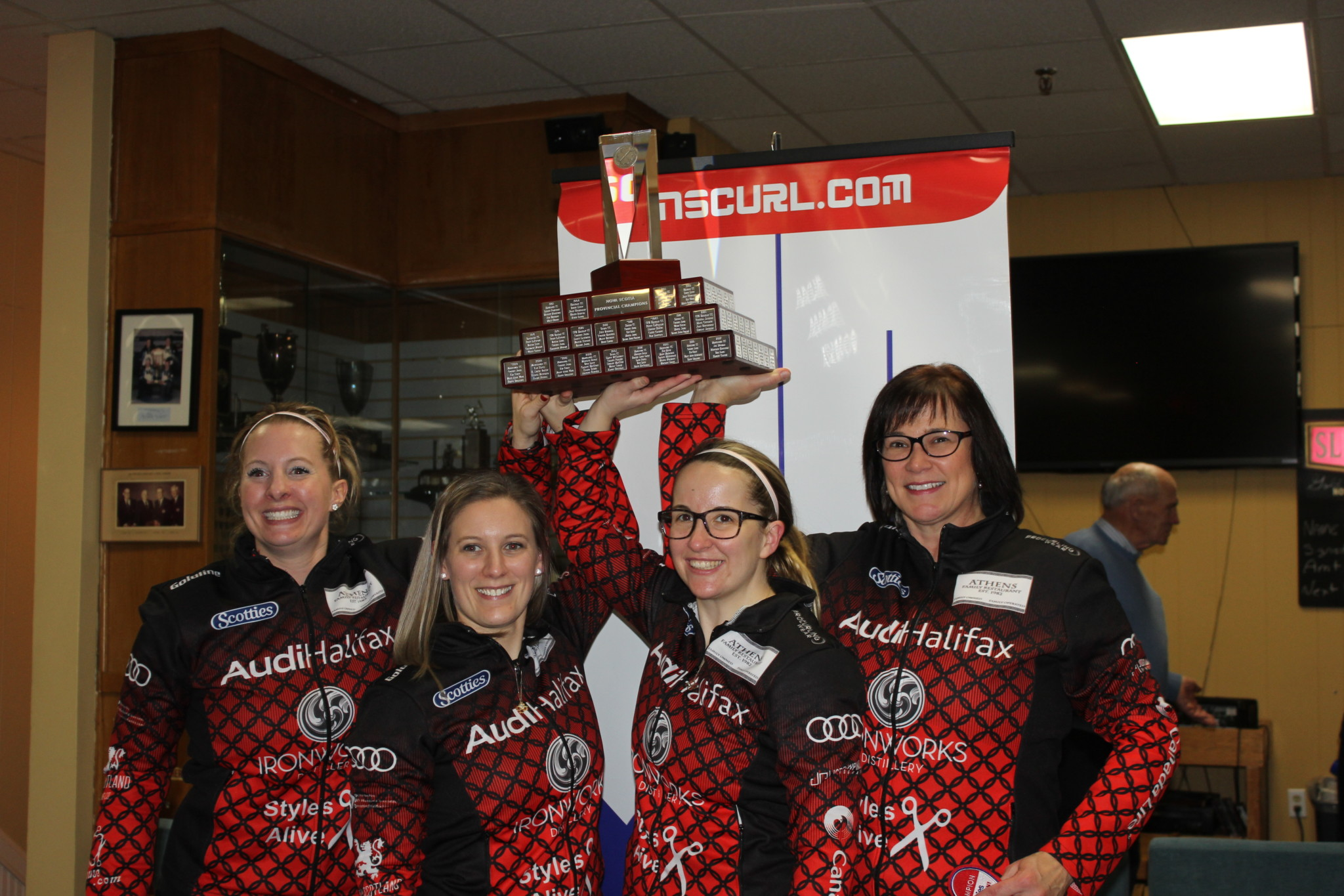 Arsenault wins fourth Scotties title
