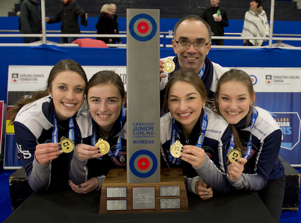 Nova Scotia women capture gold at 2018 New Holland Canadian Juniors