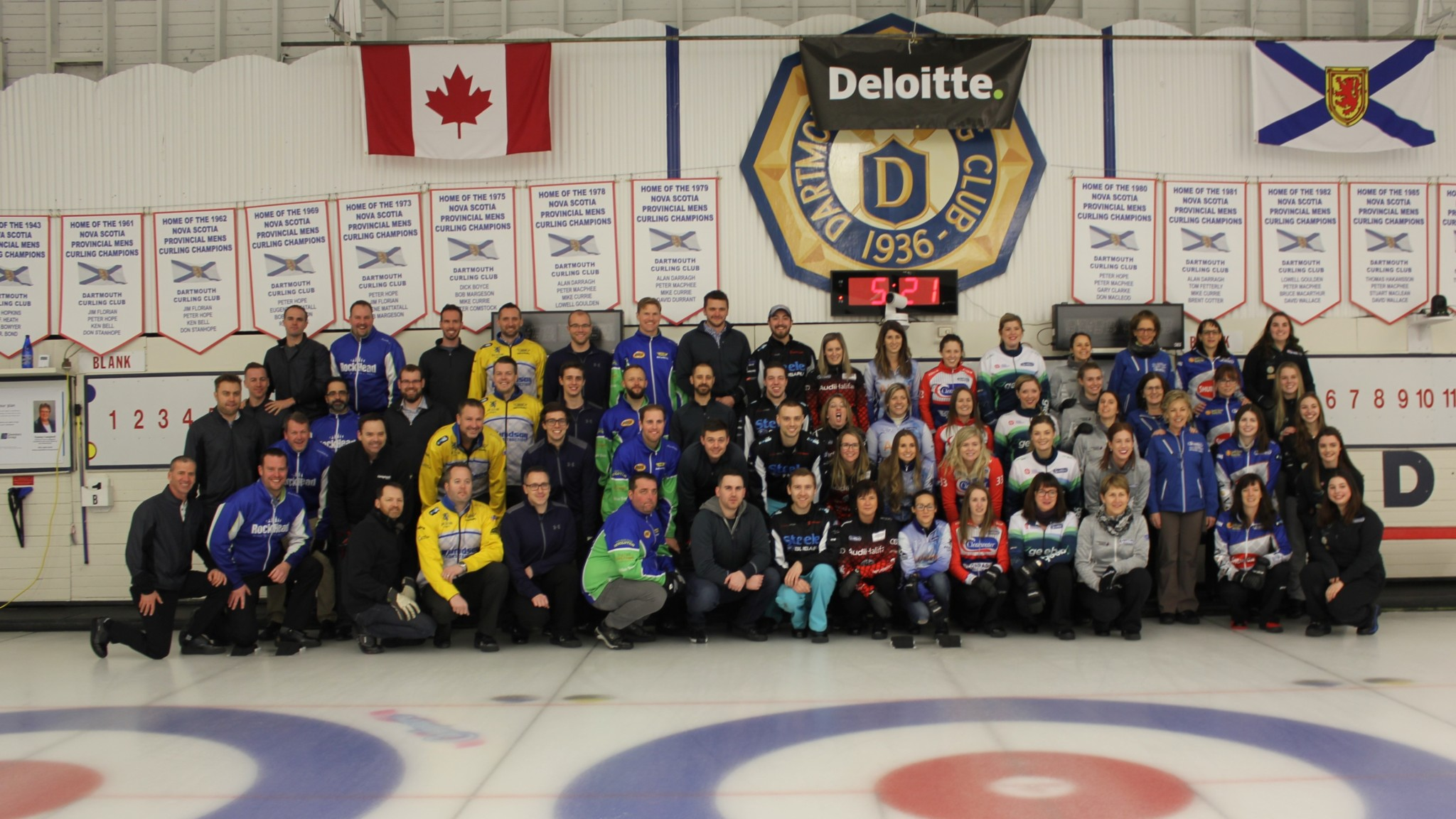 2018 Scotties Deloitte Tankard Participants