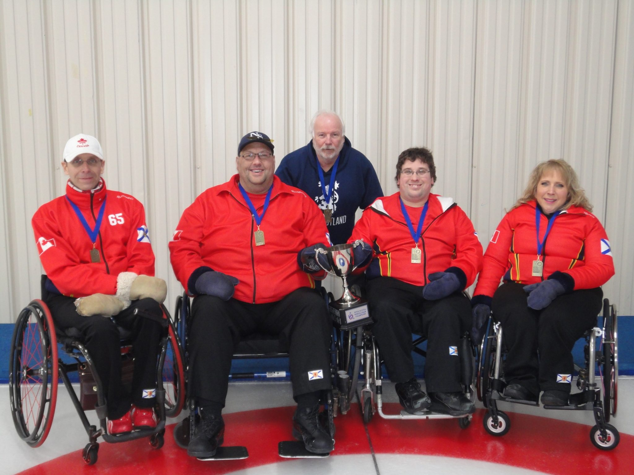 Team Hubley Bolivar - 2018 Harding Medical Wheelchair Champions