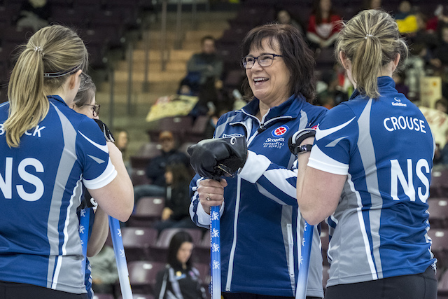 Team Nova Scotia Tied for 2nd in Championship Pool at 2018 Scotties
