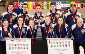 Double gold for Nova Scotia curlers at under 18 championships