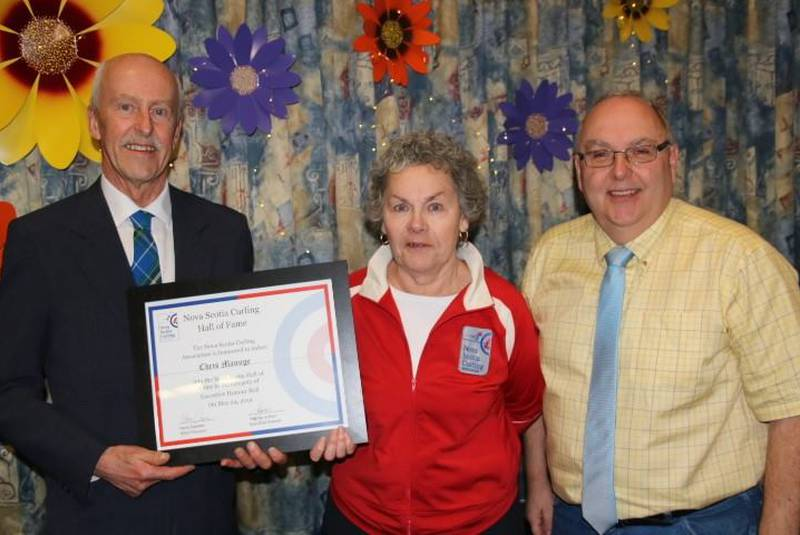 Manuge inducted into Nova Scotia Curling Hall of Fame