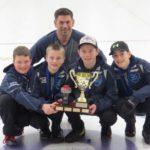 2018 UNDER 13 JAMBOREE CHAMPIONS - Coach: Craig Burgess, Skip: Calan MacIsaac, Third: Evan Hennigar, Second: Owain Fisher, Lead: Christopher McCurdy