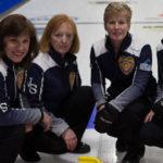 2018 SENIOR WOMEN'S CHAMPIONS Skip: Mary Mattatal Third: Margaret Cutcliffe Second: Jill Alcoe-Holland Lead: Andrea Saulnier
