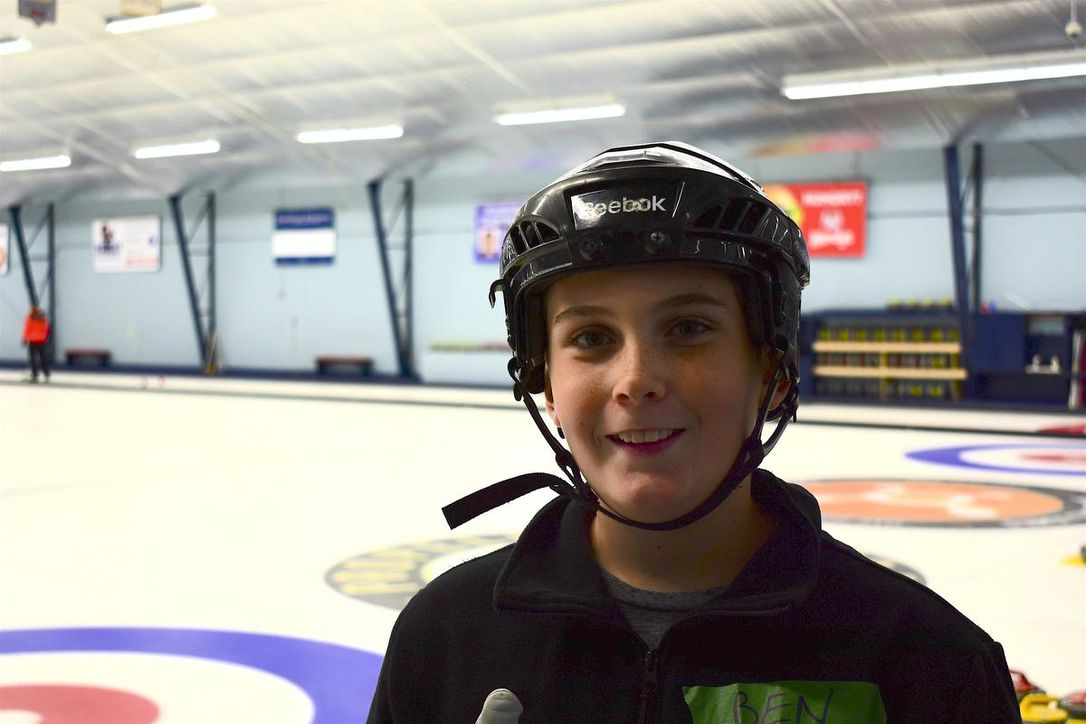 Hurry, hard! New curlers get their first taste of the ice at Halifax open house