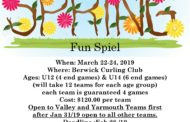 Berwick Junior Curling Spring Fun Spiel