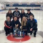 U16 Mixed - Team Callaghan - NSCA - Keith Langlois (Lead), Abbey Penney (Second), Matthew Rushton (Third), Marin Callaghan (Skip) and coach, Karen Langlois U19 Mixed - Team Stevens - NSCA - Scott Weagle (Lead), Cally Moore (Second), Andrew Lawrence (Third), Taylour Stevens (Skip) and coach, Rob Moore