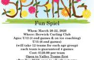 Berwick Junior Curl Into Spring Fun Spiel