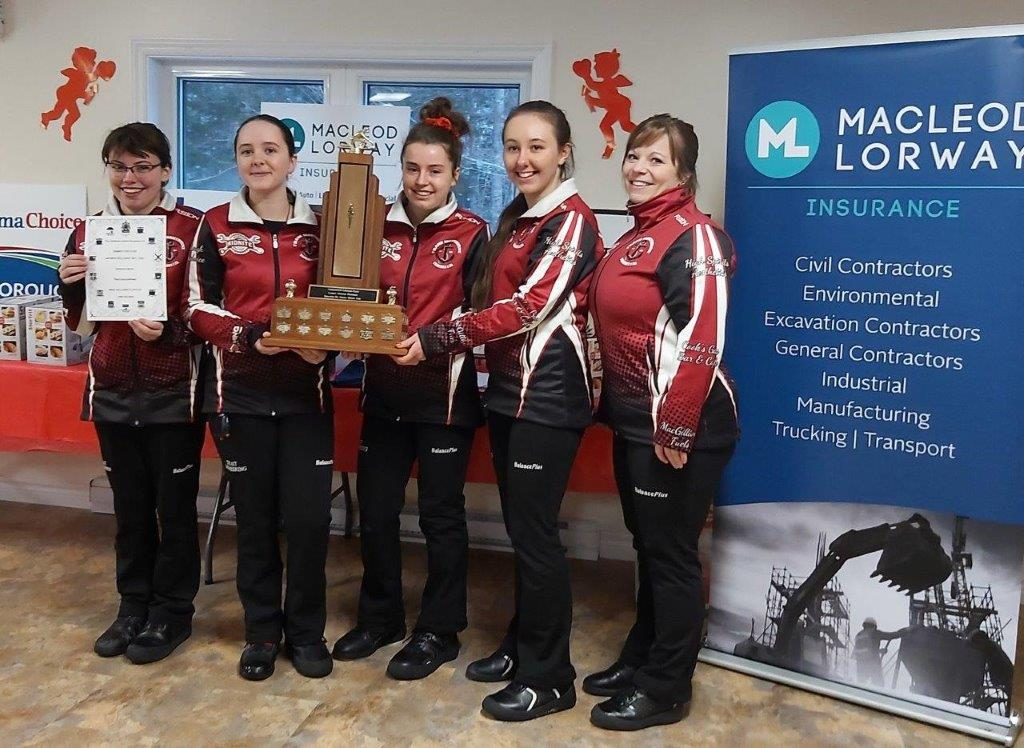 Chedabucto Curling Club's 2020 MacLeod Lorway Ladies Valentines FUNspiel