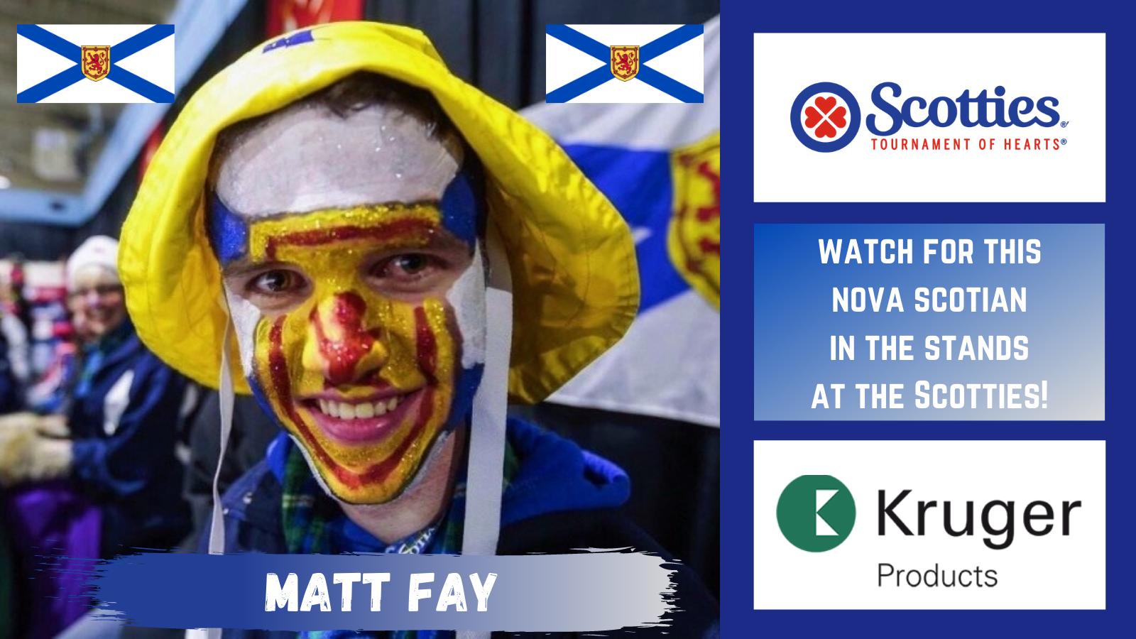 Fan Cut Out - Matt Fay