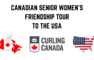 CANADIAN SENIOR WOMEN'S FRIENDSHIP TOUR TO THE USA