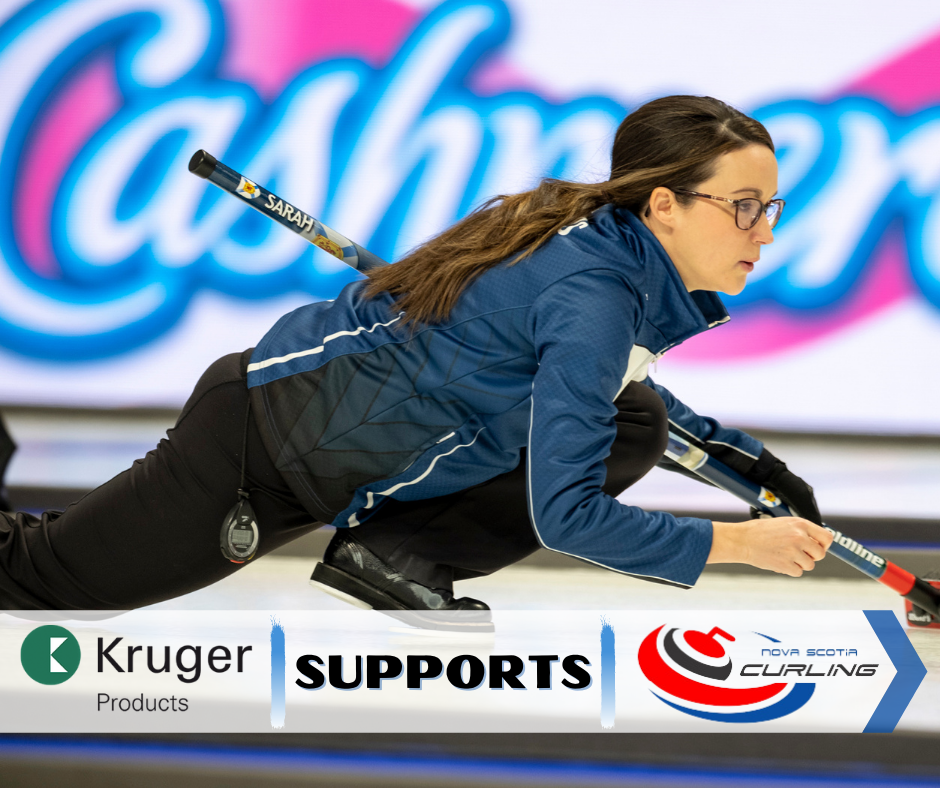 Kruger Products Supports Nova Scotia Curling
