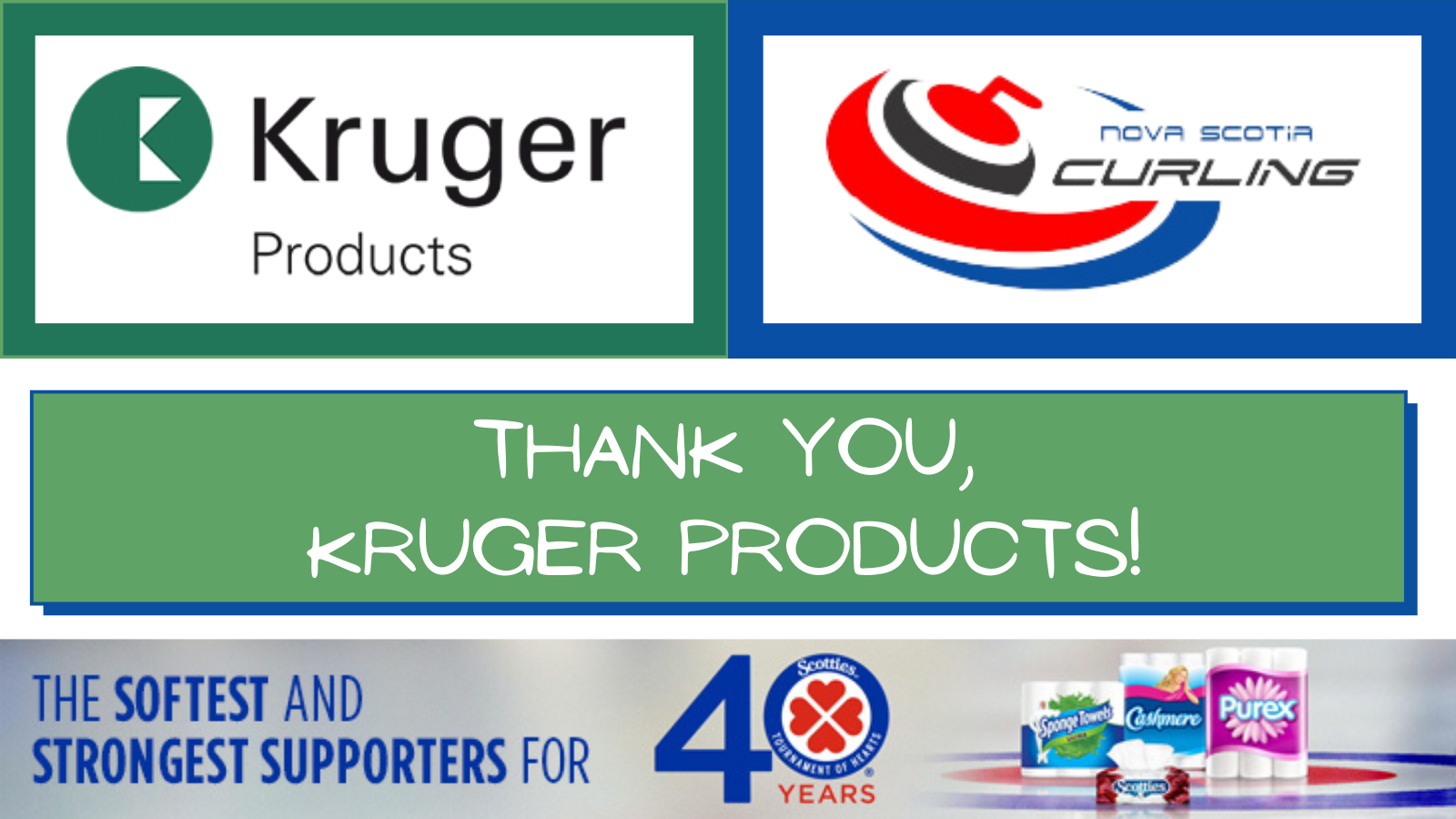 Thank You Kruger Products