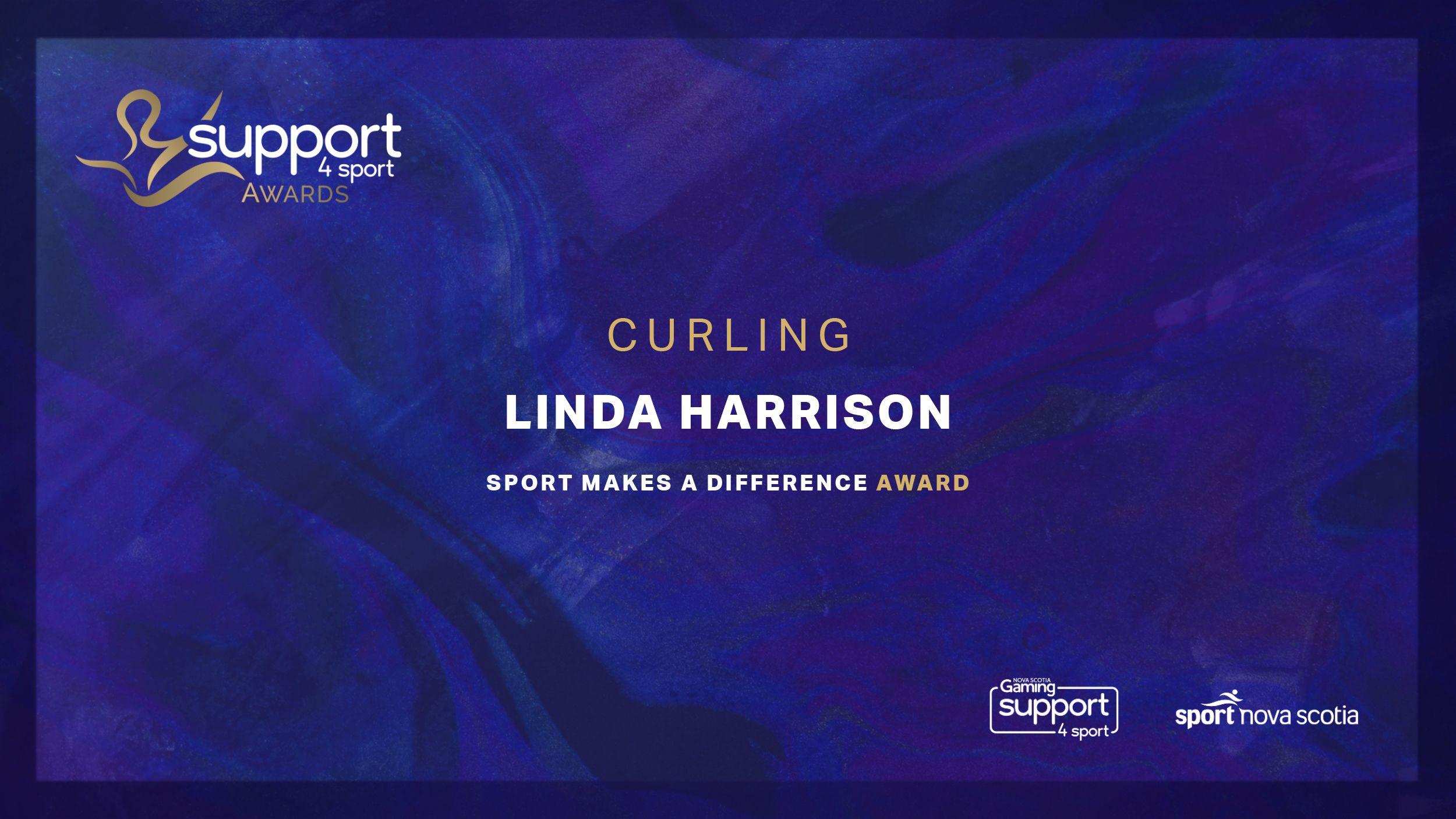 Congratulations, Linda Harrison!